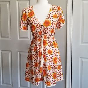 NWT! Forever 21 Floral Mini Dress
